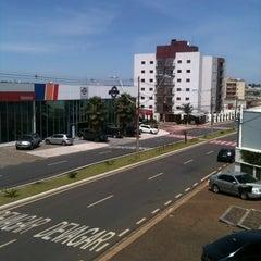 Photo taken at Avenida Nossa Senhora de Fátima by Monica L. on 10/18/2011