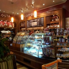 Photo taken at Costa Coffee by Nastia M. on 10/28/2011