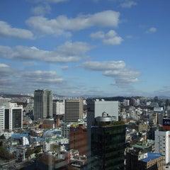 Photo taken at 보신각 (普信閣, Bosingak) by Theodore K. on 12/1/2011