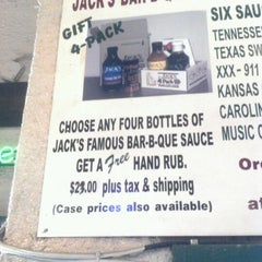 Photo taken at Jack's Bar-B-Que by Devin V. on 8/11/2012