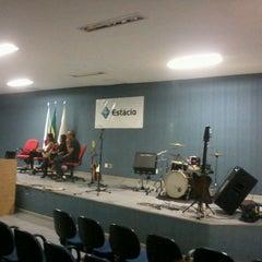 Photo taken at Faculdade Estácio de Sá by Lucas G. on 5/11/2012