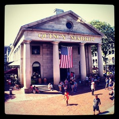 Photo taken at Quincy Market by Felipe A. on 8/28/2012