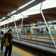 Photo taken at Brentwood Town Centre SkyTrain Station by @michaelkwan on 9/15/2011