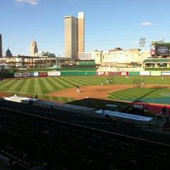Photo taken at Parkview Field by Amber R. on 4/5/2012