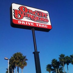 Photo taken at Orcutt Burger by slonews on 1/29/2012