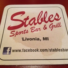 Photo taken at Stables Bar & Grill by Geebs on 8/7/2012