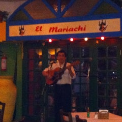 Photo taken at El Mariachi by Mauro F. on 4/15/2012