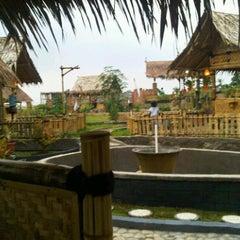 Photo taken at De'Saung Gunung Salak by Yuke R. on 5/22/2011