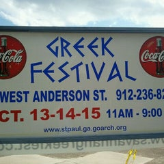 Photo taken at Savannah Greek Festival 2011 by Ben S. on 10/13/2011