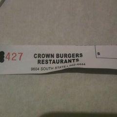 Photo taken at Crown Burger by Jacob H. on 10/5/2011