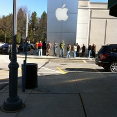Photo taken at Apple Store, Suburban Square by M P. on 3/12/2011