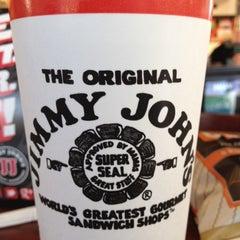 Photo taken at Jimmy John's by Brett C. on 6/3/2012
