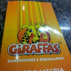 Photo taken at Giraffas Carrefour São Vicente by André L. on 5/2/2012