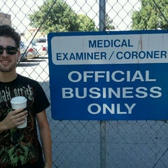 Photo taken at Santa Clara County Medical Examiners Office by Melbourne F. on 9/4/2011
