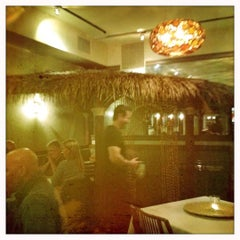 Photo taken at Bayu's Authentic Ethiopian Cuisine by Brent A. on 2/12/2012