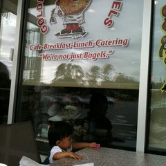 Photo taken at Goldberg's Bagels & Deli by 정열 on 9/11/2011