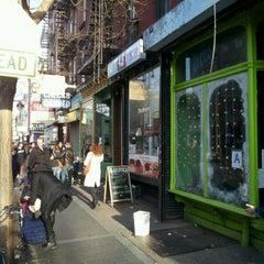 Photo taken at Bliss Cafe by Taj M. on 1/1/2012