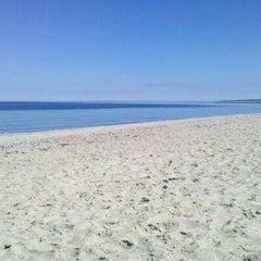 Photo taken at Town Neck Beach / Boardwalk by Cheri S. on 3/23/2012