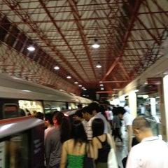Photo taken at Jurong East MRT Interchange (NS1/EW24) by Karen C. on 7/13/2012
