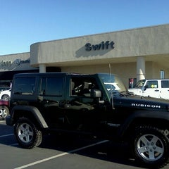 Photo taken at Swift Chrysler Jeep Dodge Kia by Angie G. on 7/22/2011