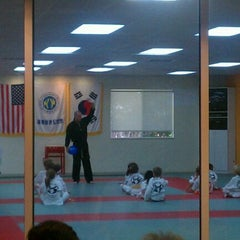 Photo taken at Lee's Traditional Tae Kwon Do by Frank P. on 10/6/2011