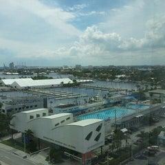 Photo taken at Courtyard by Marriott Fort Lauderdale Beach by Reynolda B. on 10/14/2011