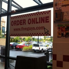 Photo taken at Five Guys by Dustin B. on 9/18/2011