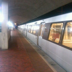 Photo taken at New Carrollton Metro Station by Theodore B. on 3/9/2012