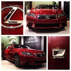 Photo taken at Lexus of Palm Beach by Rob W. on 4/25/2012