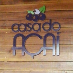 Photo taken at Casa do Açaí by Raphael Alisson S. on 9/9/2012