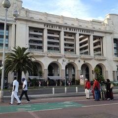Photo taken at Hyatt Regency Nice Palais de la Mediterranee by Regis V. on 5/12/2012
