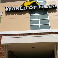Photo taken at World of Beer by Gerald H. on 4/7/2012