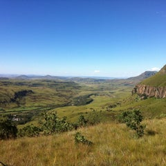 Photo taken at Mushroom Rock, Drakensburg by Daniel M. on 3/17/2012