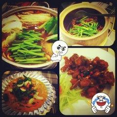 Photo taken at Ếch Xanh Restaurant by Vivian N. on 7/16/2012