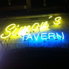 Photo taken at Simon's Tavern by Jared H. on 6/13/2012