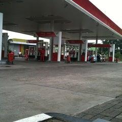 Photo taken at SPBU 34.13210 Perempatan Pemuda by muhammad n. on 3/8/2012