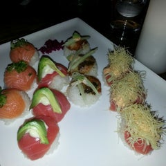 Photo taken at Momo Sushi Shack by Henry S. on 8/4/2012
