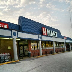 Photo taken at Hanahreum Mart (H Mart) by Dan P. on 8/15/2012