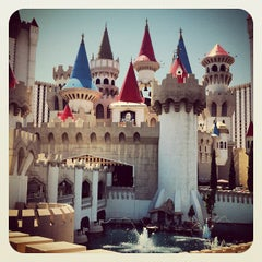 Photo taken at Excalibur Hotel & Casino by Christopher M. on 8/24/2012