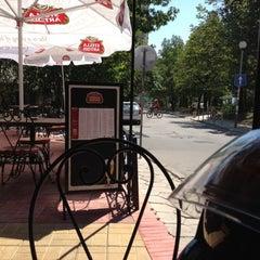 Photo taken at Brick Cafe by Georgii C. on 8/18/2012