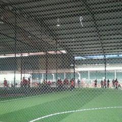 Photo taken at Futsal Masterscaff by Ekazallika M. on 6/15/2012