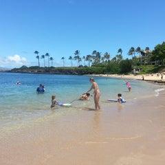 Photo taken at Kapalua Bay Beach by Bill S. on 8/19/2012