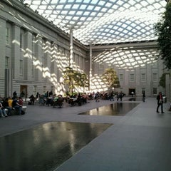 Photo taken at Kogod Courtyard by Erik W. on 3/10/2012