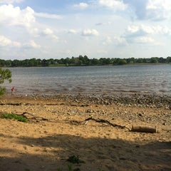Photo taken at Neshaminy State Park by Nanoo T. on 5/13/2012