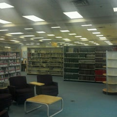 Photo taken at Southdale Library by Thomas K. on 8/23/2012