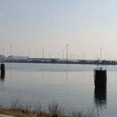 Photo taken at Agc Zeebrugge by Mitch v. on 3/21/2012