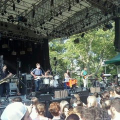 Photo taken at Central Park SummerStage by Andy U. on 7/16/2012