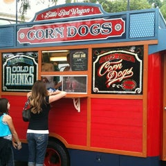 Photo taken at Little Red Wagon Corn Dogs by Martin O. on 6/14/2012