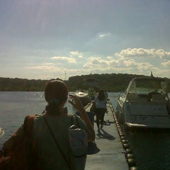 Photo taken at Marina Tauá by Maysa C. on 8/3/2012