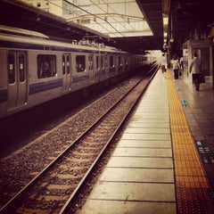 Photo taken at 松戸駅 (Matsudo Sta.) by c50cub96 on 8/18/2012